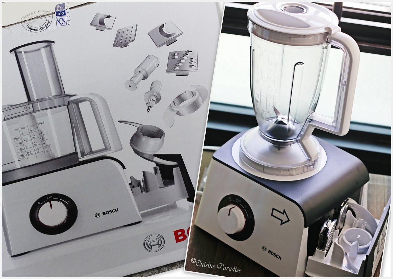 Bosch MCM4100 food processor