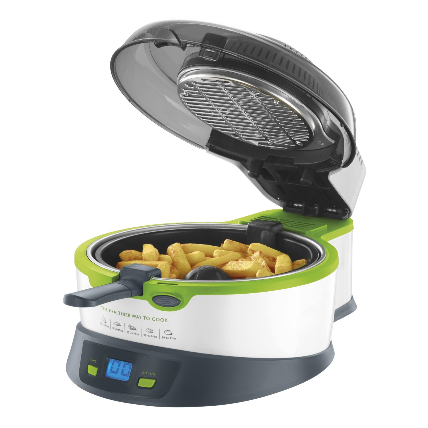 Breville Halo Health Fryer with open lid