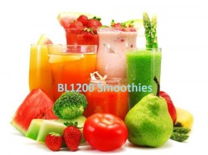 Smoothies made by Duronic BL1200