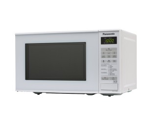 Panasonic microwave front view close up