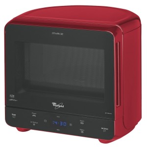 Small Microwave Reviews with Whirlpool Max 35 in Red