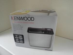 Kenwood Bread maker box