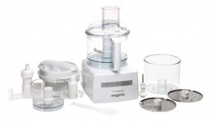 magimix food processor in white
